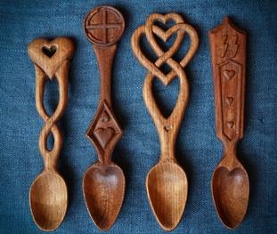 деревянный ложки