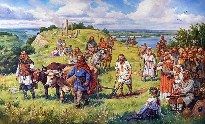 древние землепашцы